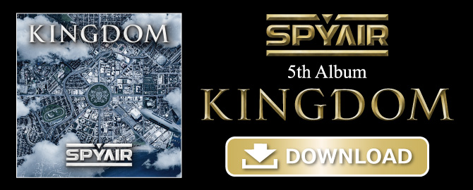 5th Album「KINGDOM」NOW ON SALE